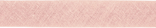 Baumwoll-Schrägband gefalzt 40/20 hellrosa