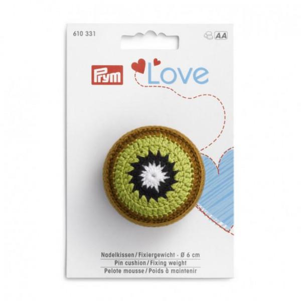 Prym Love Nadelkissen / Fixiergewicht Kiwi