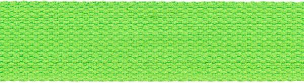 Gurtband 30 mm apfelgrün