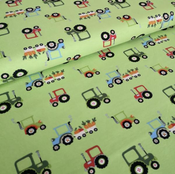 Baumwolljersey Traktoren