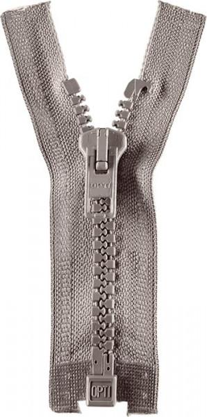 Reißverschluss P60 Werra 30-80 cm teilbar hellgrau
