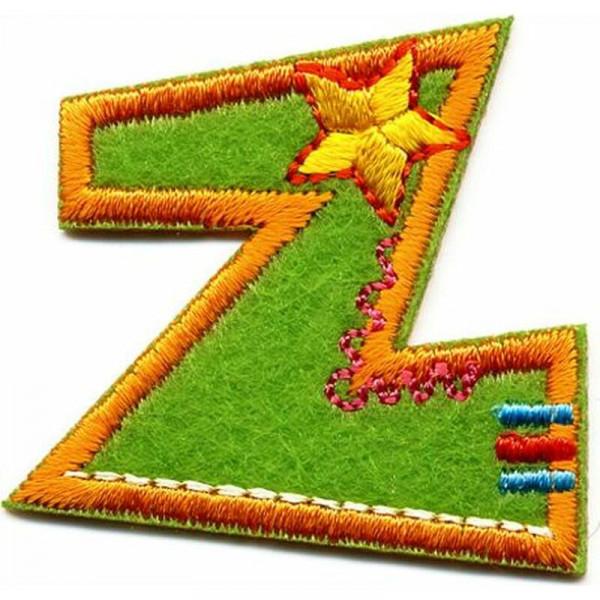 Applikation Buchstabe Z