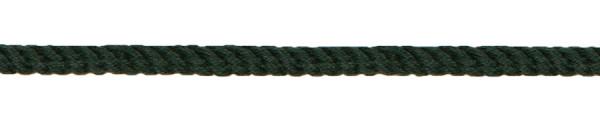 Kordel gedreht 4 mm dunkelgrün