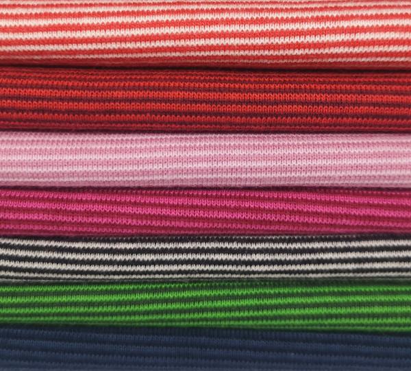 Ringelbündchen schmal in 7 Farben