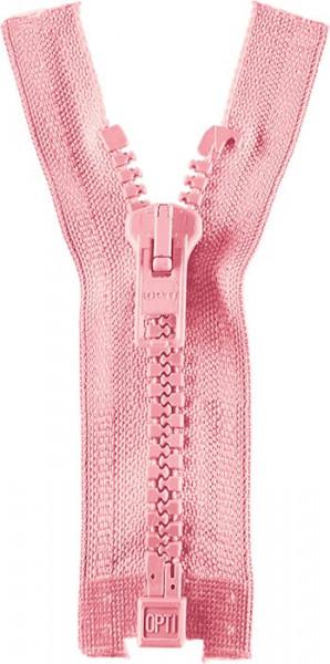 Reißverschluss P60 Werra 30-80 cm teilbar rosa