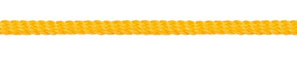 Kordel gedreht 4 mm gelb