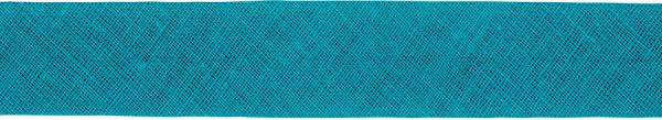Baumwoll-Schrägband gefalzt 40/20 petrol