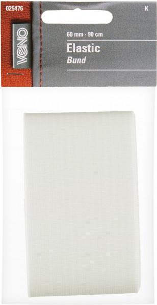 Elastic-Bund 60 mm weiß MATERIAL/ART.NR. FEHLT