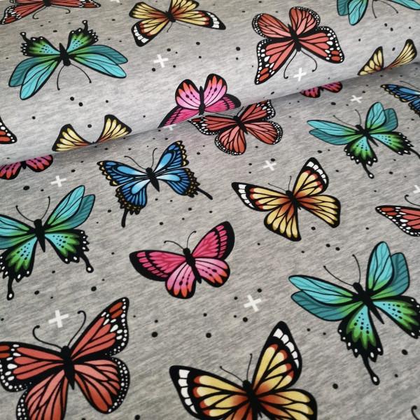 French Terry Schmetterlinge