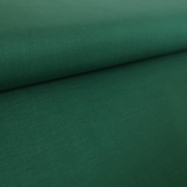 Baumwollstoff Uni grün