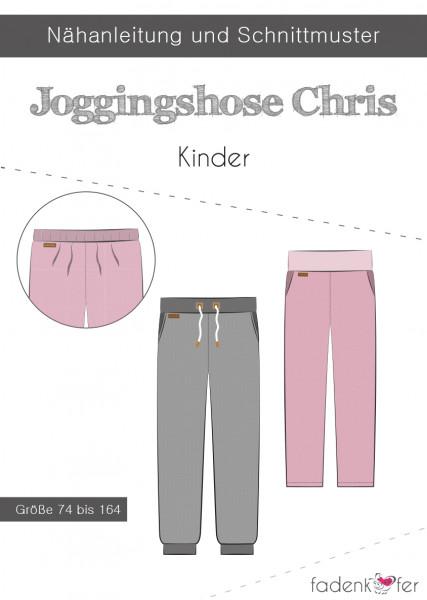 Schnittmuster Jogginghose Chris Kinder Gr. 74-164