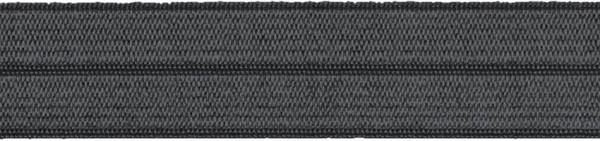 Einfassband elastisch 20 mm grau