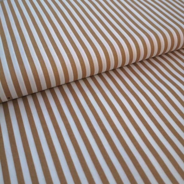 Baumwollstoff Streifen