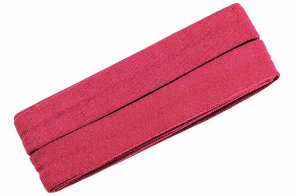 Jersey-Schrägband 20 mm pink