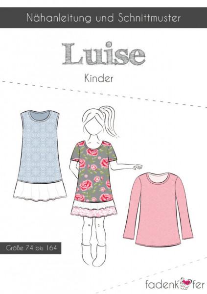 Schnittmuster Kleid Luise Kinder Gr. 74-164