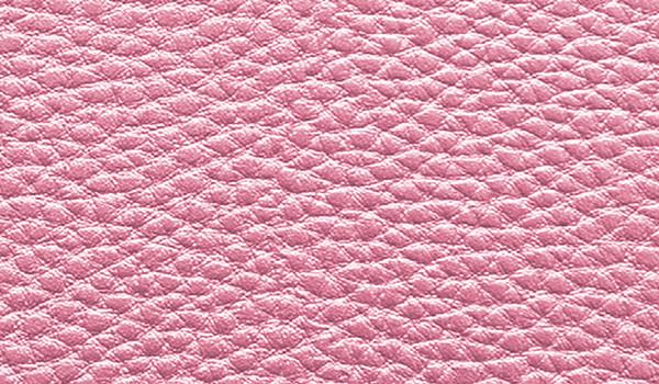 Kunstleder-Zuschnitt metallic rosa