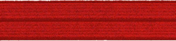 Einfassband elastisch 20 mm burgund