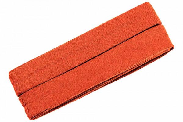 Jersey-Schrägband 20 mm orange