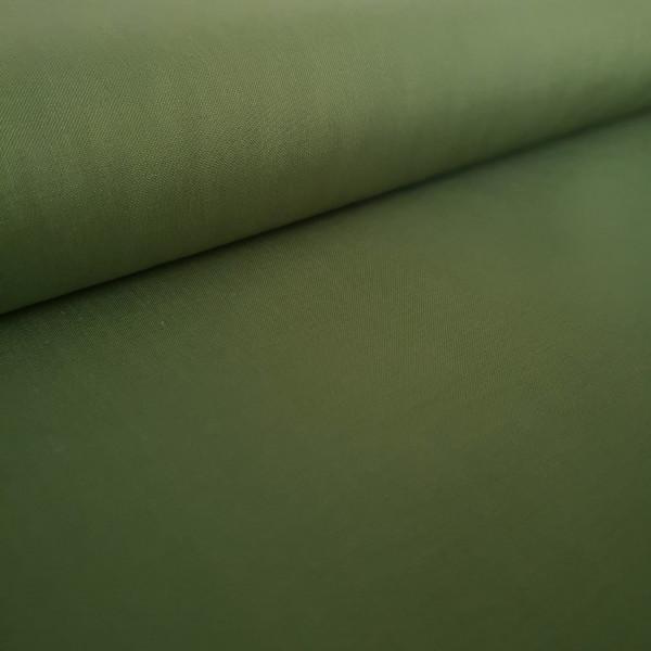 Baumwollstoff Uni spinatgrün