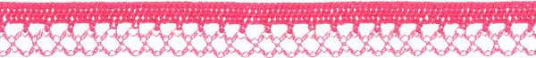 Zierlitze elastisch 12 mm pink