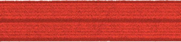 Einfassband elastisch 20 mm rot