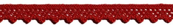 Klöppelspitze 10 mm rot