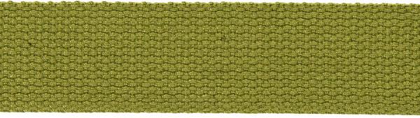 Gurtband 30 mm olivgrün