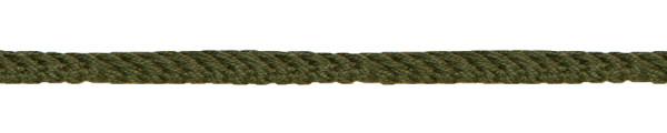 Kordel gedreht 4 mm olivgrün