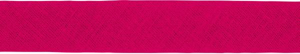 Baumwoll-Schrägband gefalzt 40/20 pink