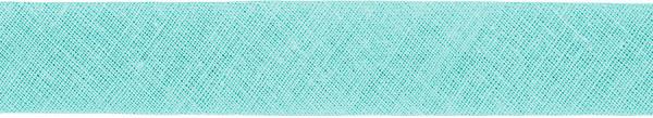 Baumwoll-Schrägband gefalzt 40/20 mint