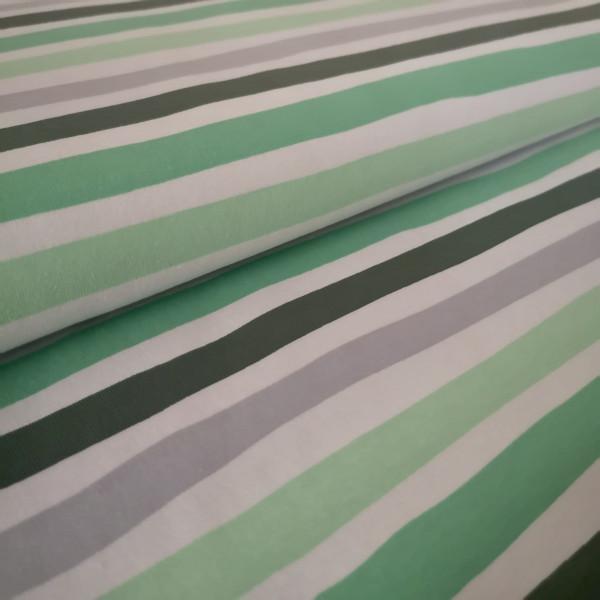 Baumwolljersey Streifen