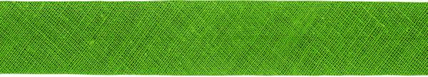 Baumwoll-Schrägband gefalzt 40/20 hellgrün