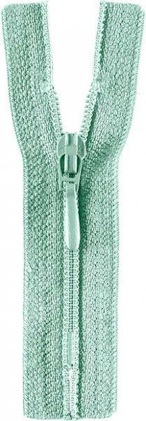 Reißverschluss Tropfenschieber 30-60 cm nicht teilbar mint