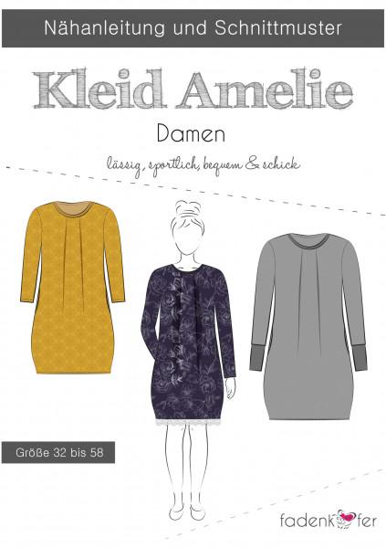 Schnittmuster Kleid Amelie Damen Gr. 32-58