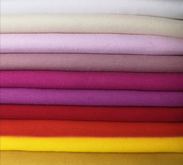 Baumwolljersey Uni Swafing in 10 Farben