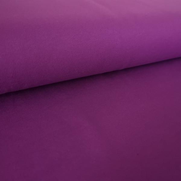 Baumwolljersey Uni lila