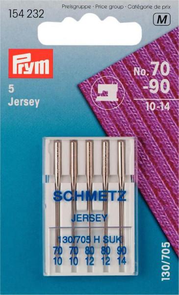 Nähmaschinennadeln 130/705 Jersey, No. 70-90