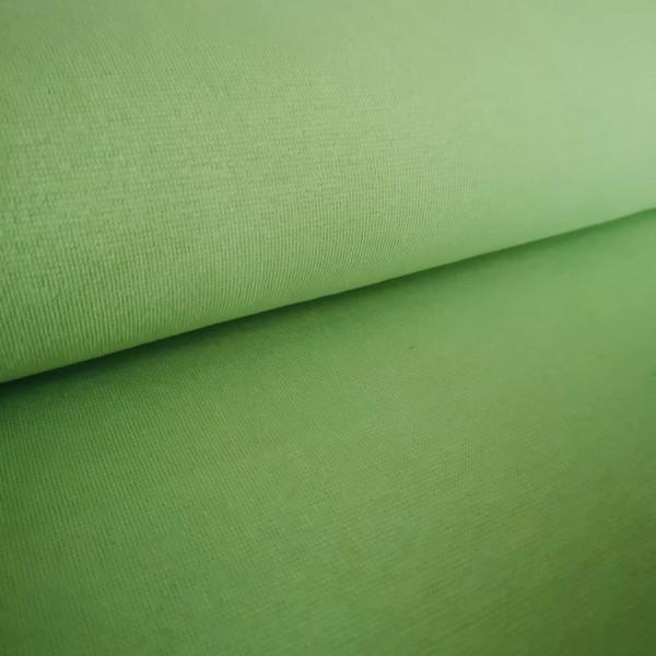 Bündchenstoff Feinstrick hellgrün