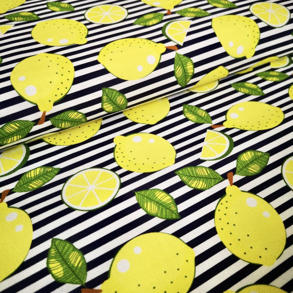 Canvas Zitronen