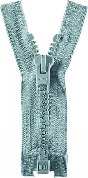 Reißverschluss P60 Werra 30-80 cm teilbar hellblau