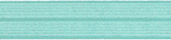 Einfassband elastisch 20 mm türkis