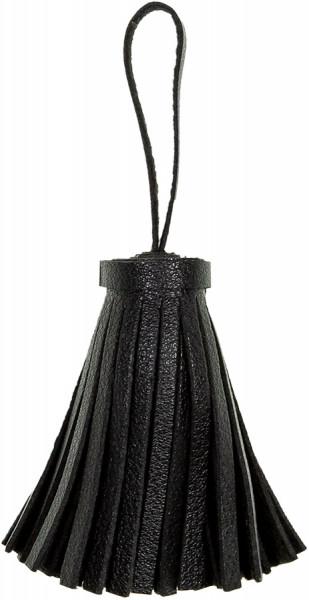Quaste/Tassel mit Aufhänger 60 mm schwarz