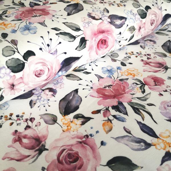 Baumwolljersey floral