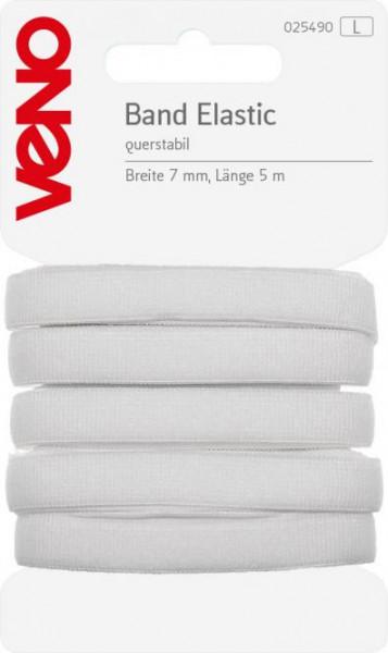 Elastic-Band 7 mm weiß