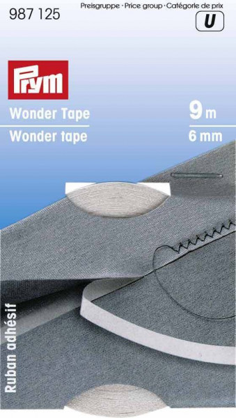 Wonder Tape 6 mm transparent