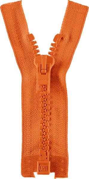 Reißverschluss P60 Werra 30-80 cm teilbar orange