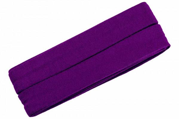 Jersey-Schrägband 20 mm lila