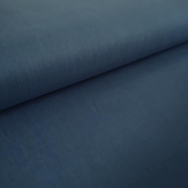 Baumwollstoff Uni jeansblau