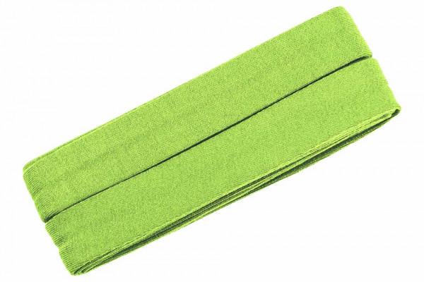 Jersey-Schrägband 20 mm grün