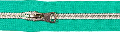 Spiralreißverschluss inkl. Schieber mint
